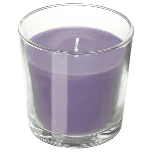 ايكيا SINNLIG شمع معطر في كأس