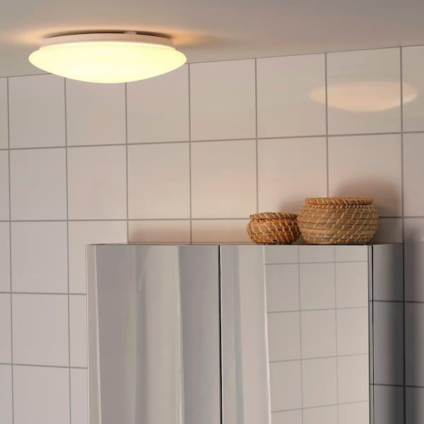 SJÖGÅNG مصباح LED سقف/حائط, أبيض, 25 سم