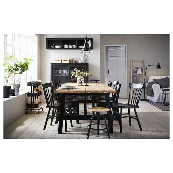 SKOGSTA طاولة طعام, اكاسيا, 235x100 سم