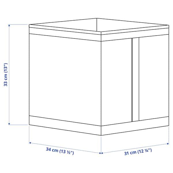 SKUBB صندوق, أبيض, 31x34x33 سم