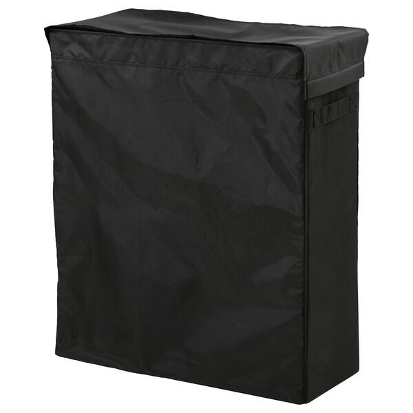 SKUBB سلة للغسيل, أسود, 80 ل