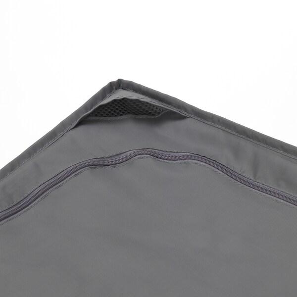 SKUBB حقيبة تخزين, رمادي غامق, 93x55x19 سم