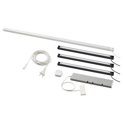 SKYDRAG / TRÅDFRI Lighting kit, anthracite/white