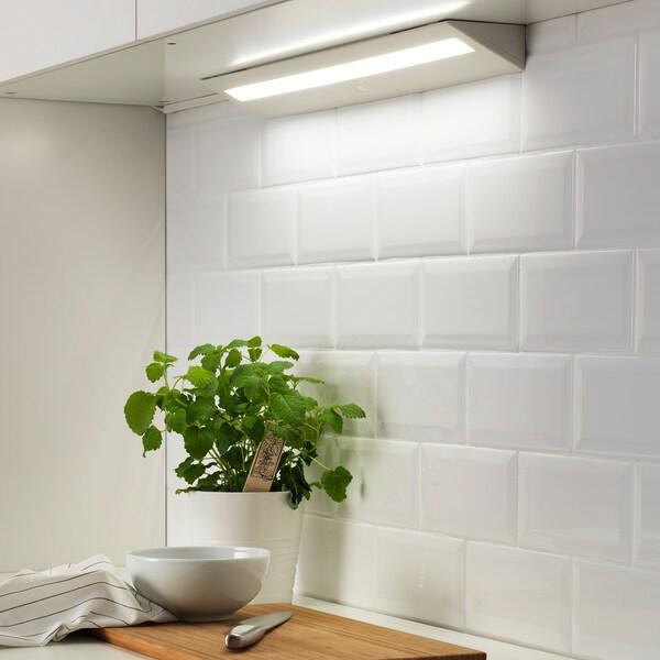 SLAGSIDA LED worktop lighting, white, 60 cm
