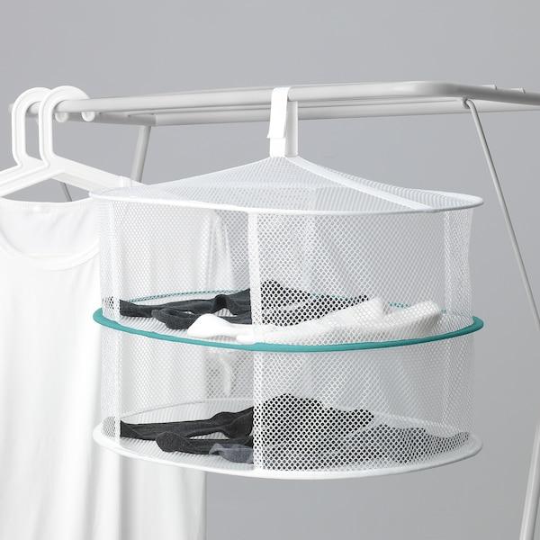 SLIBB Hanging dryer, 2 levels, mesh/white
