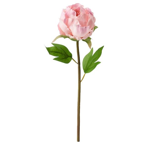 SMYCKA Artificial flower, Peony/pink, 30 cm