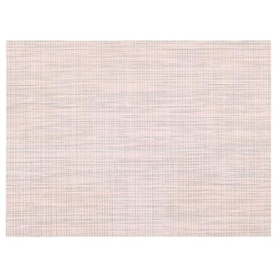 SNOBBIG Place mat, light pink, 45x33 cm