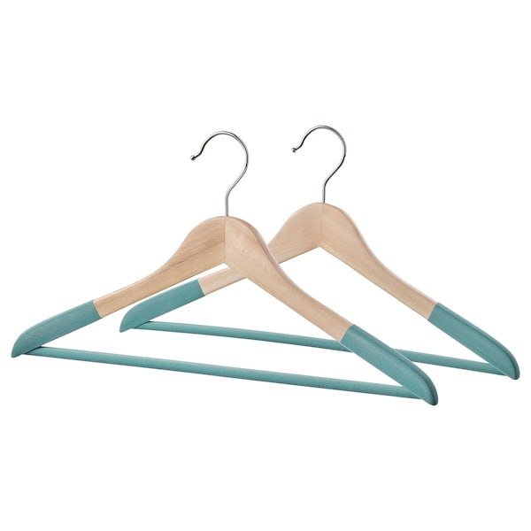 SNYGGING Hanger, turquoise