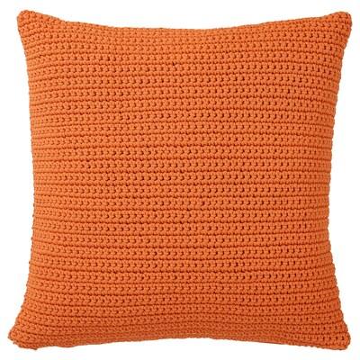 SÖTHOLMEN غطاء وسادة، داخلي/خارجي, برتقالي, 50x50 سم