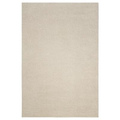 SPORUP سجاد، وبر قصير, بيج فاتح, 200x300 سم