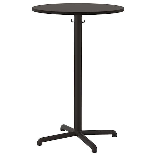 STENSELE bar table anthracite/anthracite 105 cm 70 cm