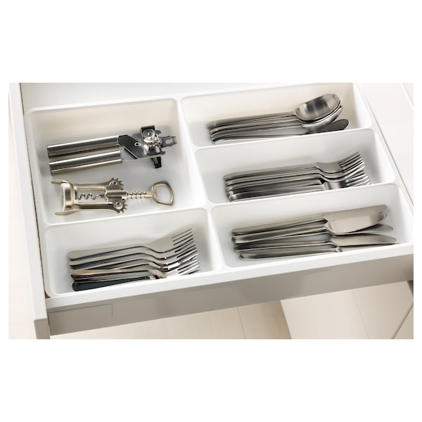 STÖDJA Cutlery tray, white, 31x50 cm