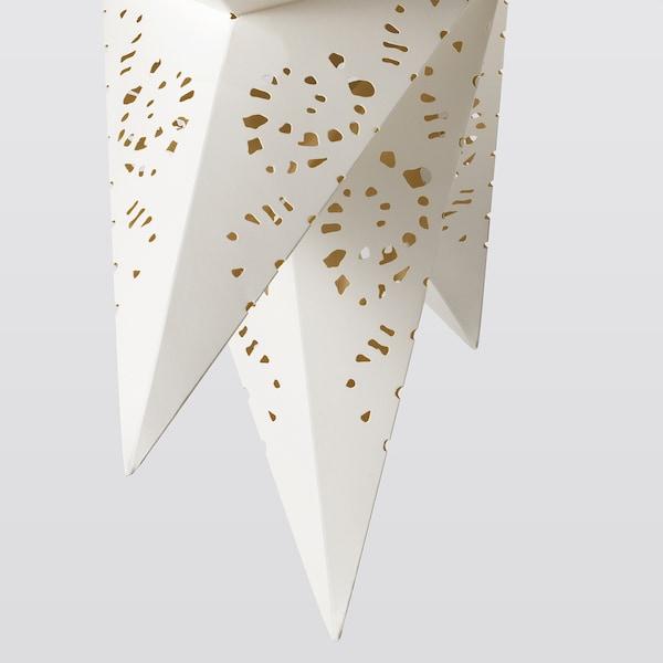 STRÅLA غطاء مصباح, مخرمات أبيض, 70 سم