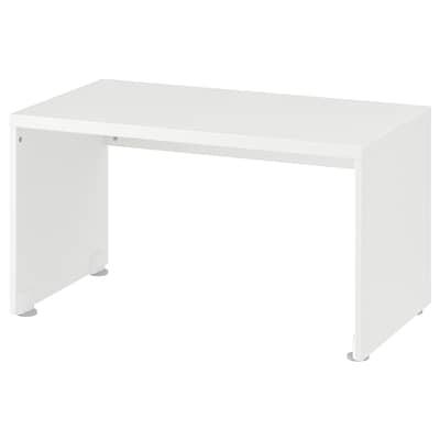 STUVA مقعد طويل, أبيض, 90x50x50 سم