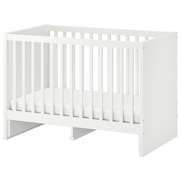 STUVA Cot, white, 60x120 cm