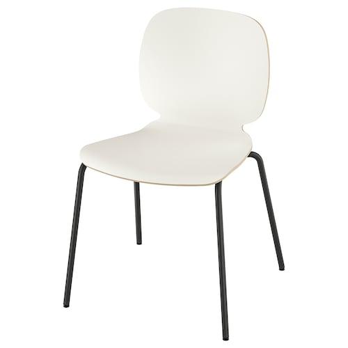 SVENBERTIL chair white/Broringe black 110 kg 52 cm 50 cm 84 cm 45 cm 42 cm 46 cm