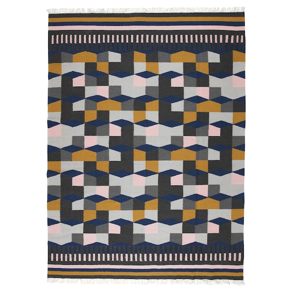 TÅRBÄK Rug, flatwoven, handmade/multicolour, 170x240 cm