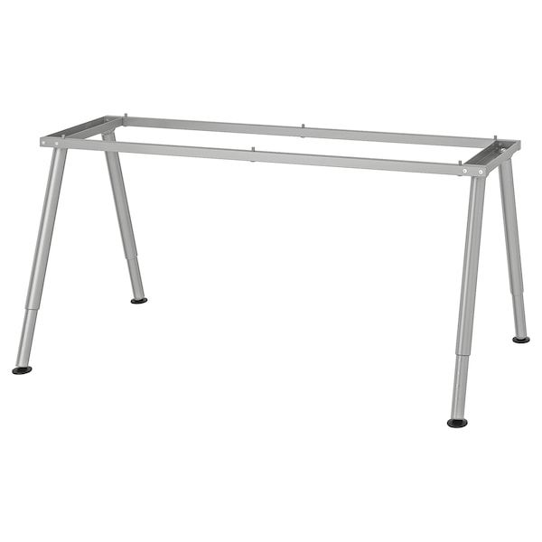 THYGE Frame for table top, silver-colour, 160x80 cm