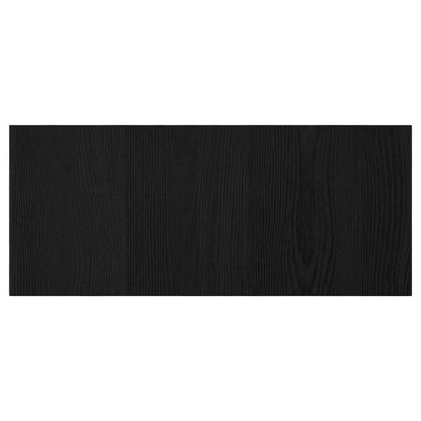 TIMMERVIKEN Drawer front, black, 60x26 cm