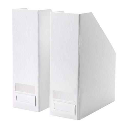 TJENA Magazine file, white