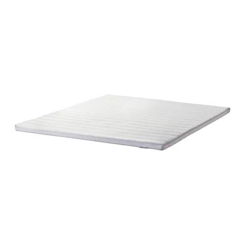 TUDDAL Mattress pad, white