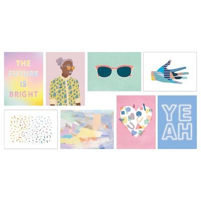 VÄXBO بطاقة فنية, المستقبل مشرق, 13x18 سم