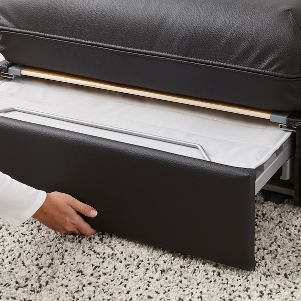 VALLENTUNA Sofa-bed module, Murum black