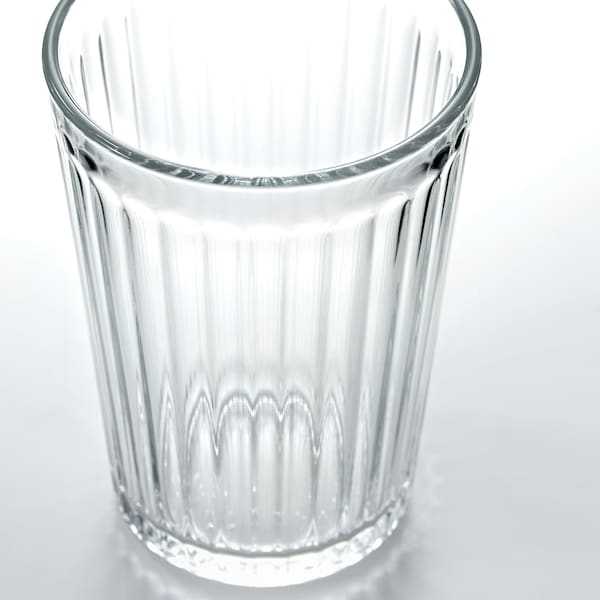 VARDAGEN كأس, زجاج شفاف, 20 سل