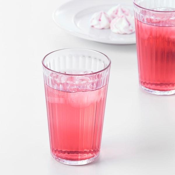 VARDAGEN كأس, زجاج شفاف, 43 سل