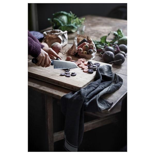 VARDAGEN Vegetable knife, dark grey, 16 cm