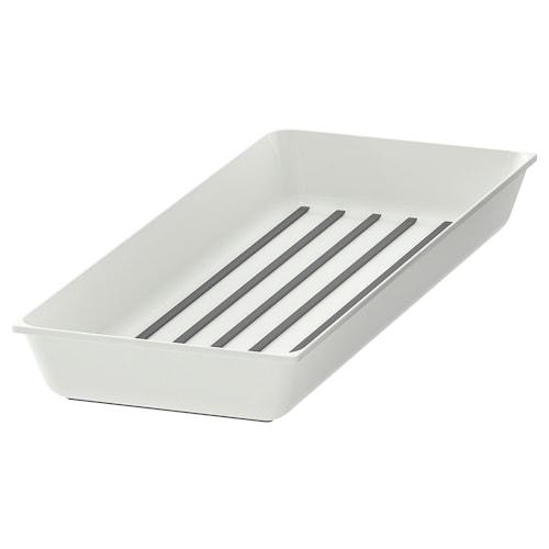 VARIERA spice rack white 20 cm 50 cm 5.4 cm