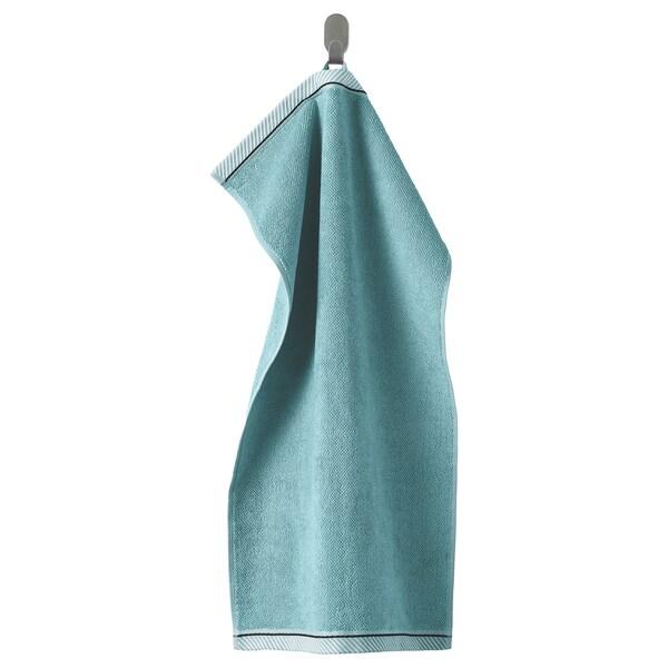 VIKFJÄRD Hand towel, light blue, 40x70 cm