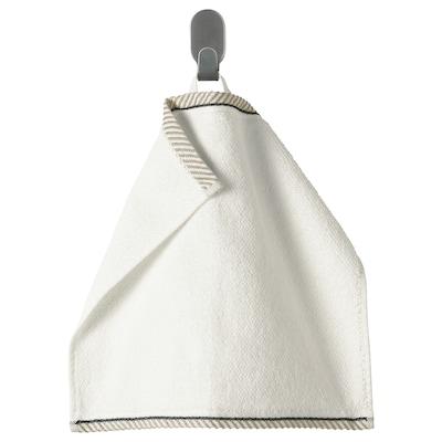 VIKFJÄRD منشفة صغيرة, أبيض, 30x30 سم
