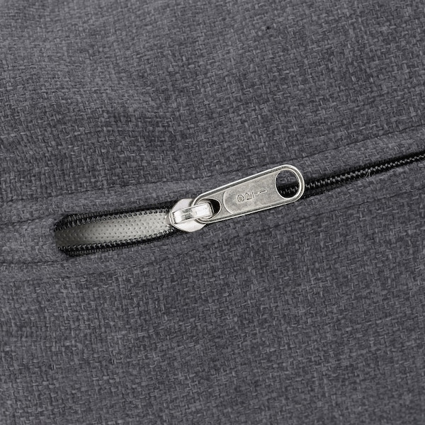 VIMLE Cover 3-seat sofa w chaise longue, Gunnared medium grey