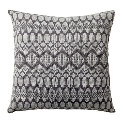 VINTER 2017 Cushion, grey, knitted