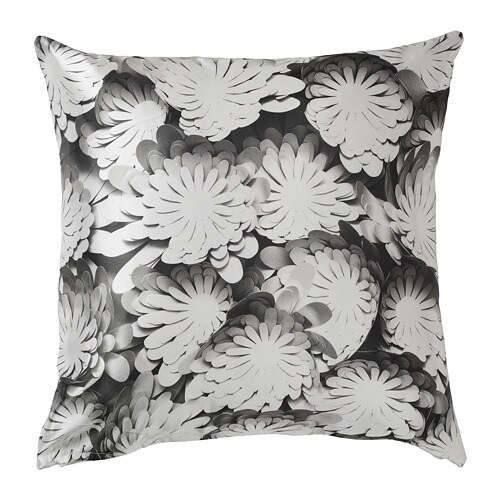 VINTER 2018 Cushion, white/grey