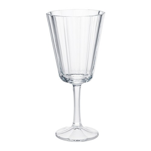 VINTER 2018 Wine glass, clear glass