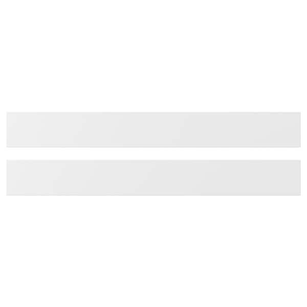 AXSTAD Front de calaix, blanc mat, 80x10 cm