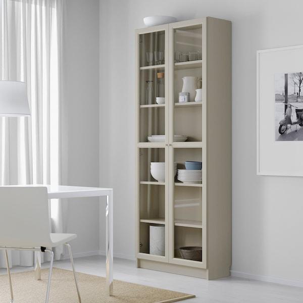 IKEA BILLY Llibreria amb portes de vidre