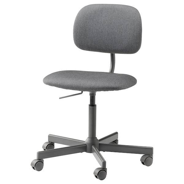 BLECKBERGET Cadira giratòria, Idekulla gris fosc