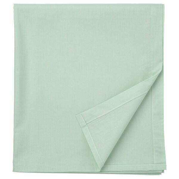 DVALA Llençol, verd clar, 150x260 cm