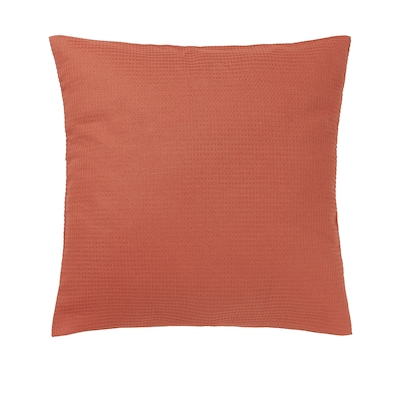 EBBATILDA Funda de coixí, vermell òxid, 50x50 cm