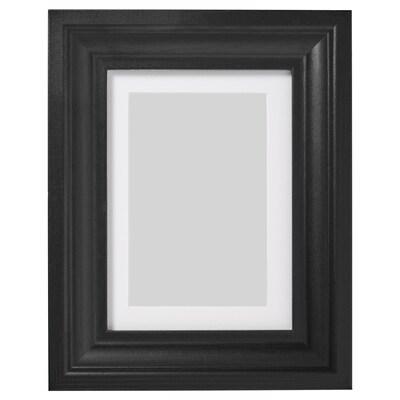 EDSBRUK Estructura, tint negre, 13x18 cm