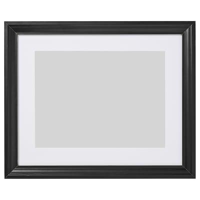 EDSBRUK Estructura, tint negre, 40x50 cm
