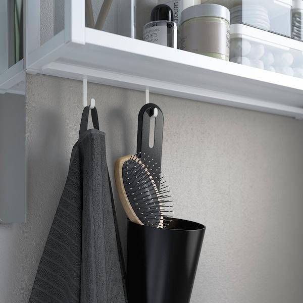 ENHET / TVÄLLEN Mobles de bany, joc d'11, efecte roure/blanc Aixeta Pilkån, 64x43x87 cm