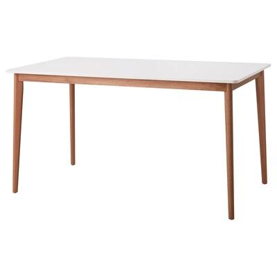 FANBYN Taula, blanc, 140x78x75 cm