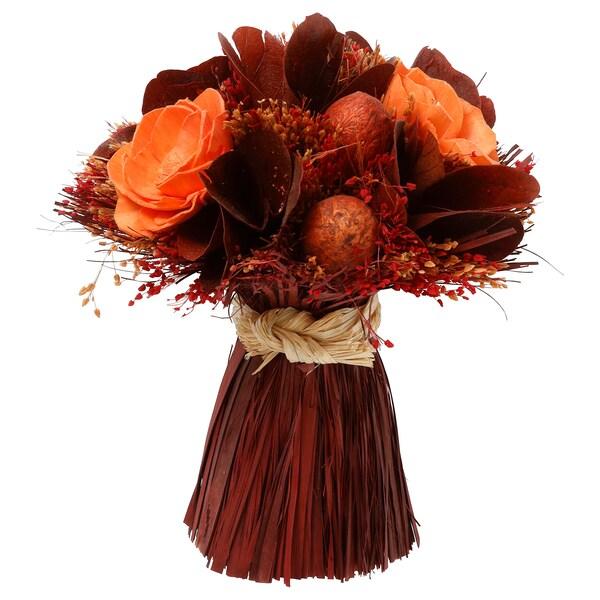 FÖRLÅTLIG Ram de flor seca, vermell fosc