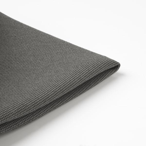 FRÖSÖN Funda de coixí, exteriors gris fosc, 35 cm