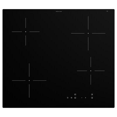 GRUNDAD Placa d'inducció, IKEA 300 Negre, 59 cm