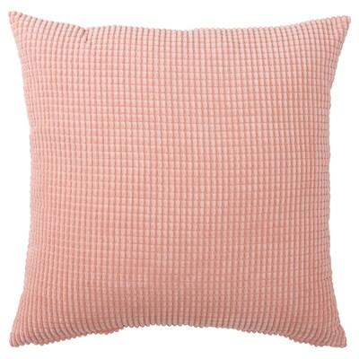 GULLKLOCKA Funda de coixí, rosa, 50x50 cm